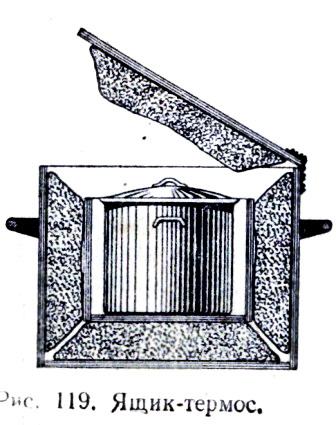 Ящик-термос на катере.