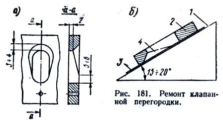 Ремонт клапанной перегородки Ветерка.