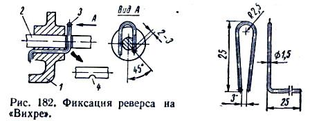 Фиксация реверса на Вихре.
