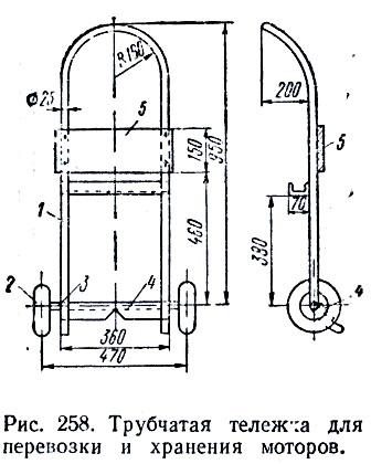 Трим для лодочного мотора своими руками чертежи 16