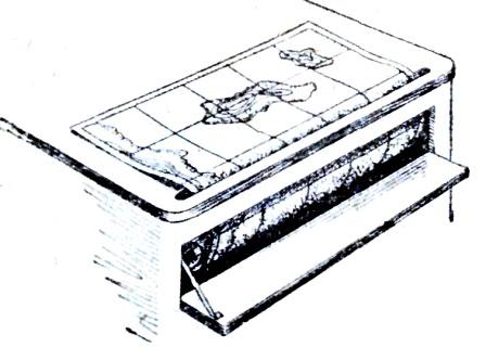 Штурманский стол.