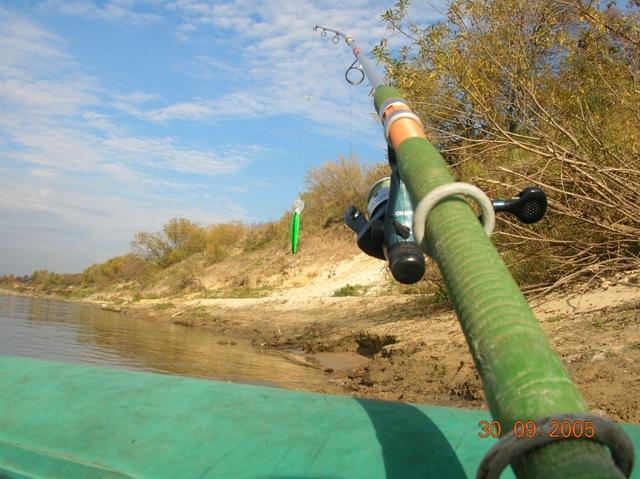 глубоководный троллинг на реке
