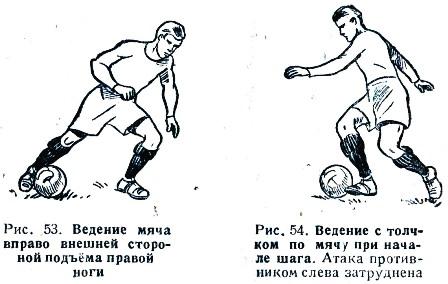 Обманные финты в футболе