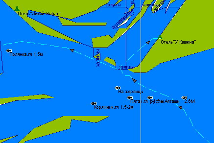 Карта для навигатора GPS. Васильсурск.