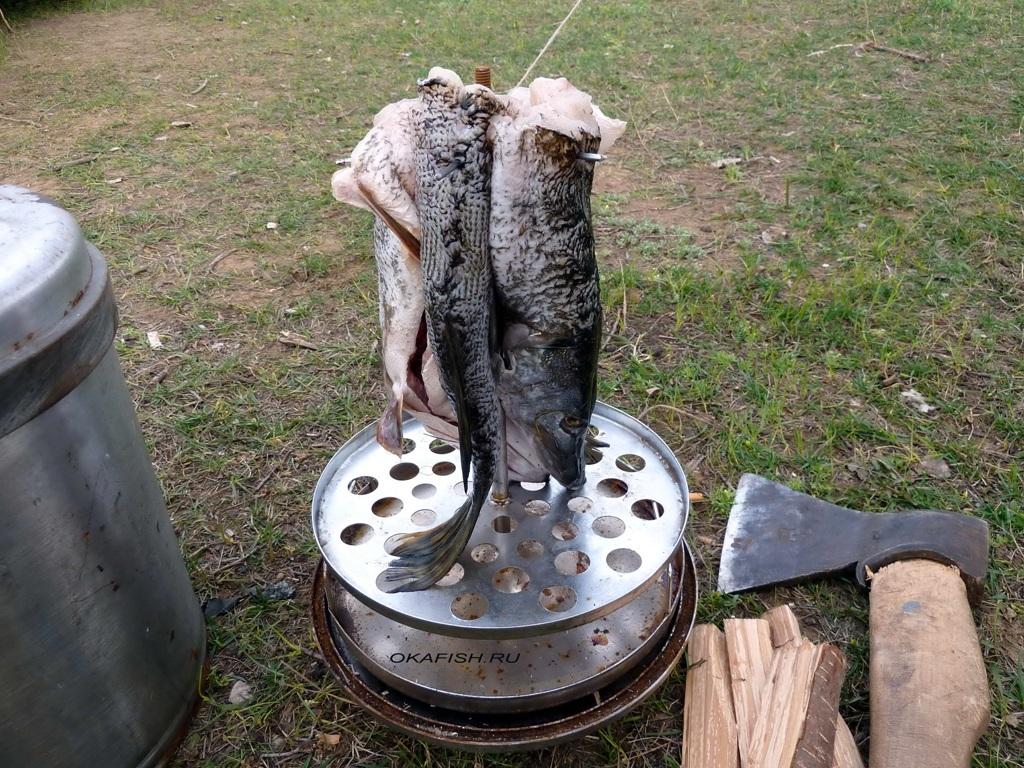 Коптильня для рыбы своими руками из ведра 88