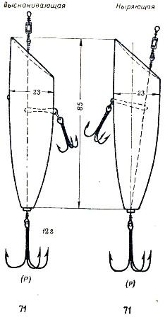 чертежи для изготовления блесны на судака