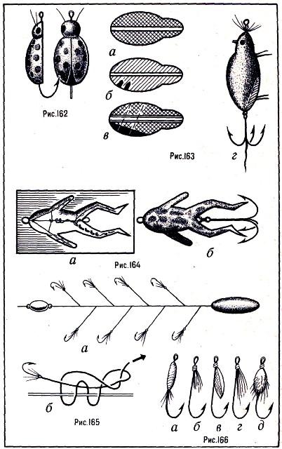 Крючок приманки самодура должен быть никелированным, 5—10, с длинным цевьем.