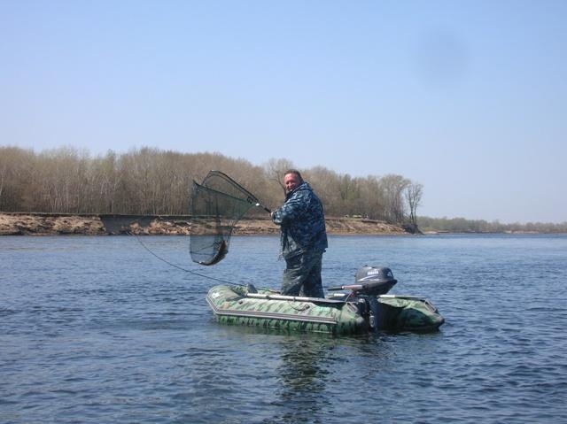 поселок промысловый рыбалка