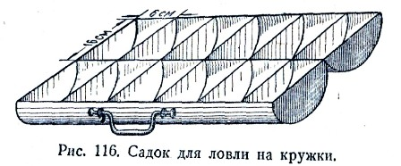 ловля рыбы на кружки самодельные