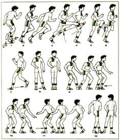 Упражнение стойка у стены