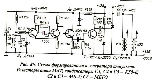 86) состоит из генератора